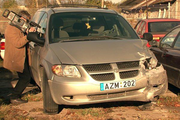 Neblaivus Palangos policijos vadas pateko į avariją (papildyta)