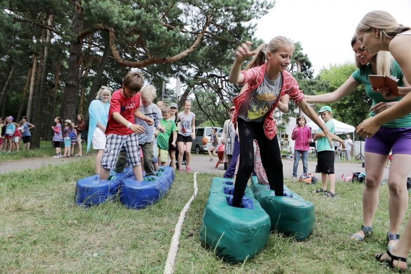 Melnragėje – vaikų sporto ir sveikatos šventė