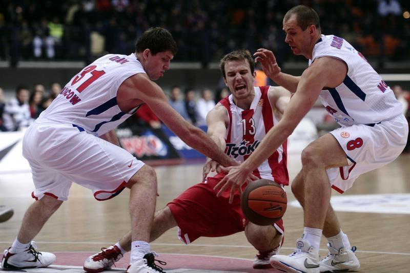CSKA pratęsė pergalingą žygį Eurolygoje