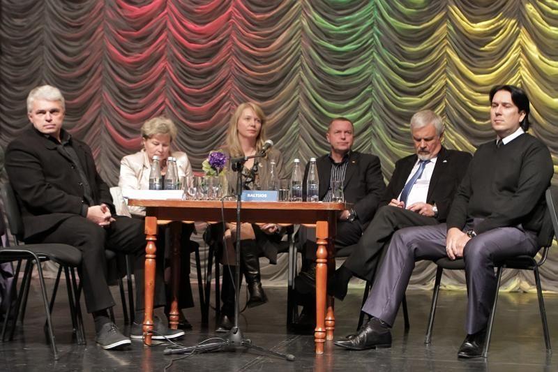 Politiniuose Klaipėdos kandidatų debatuose – skambios frazės