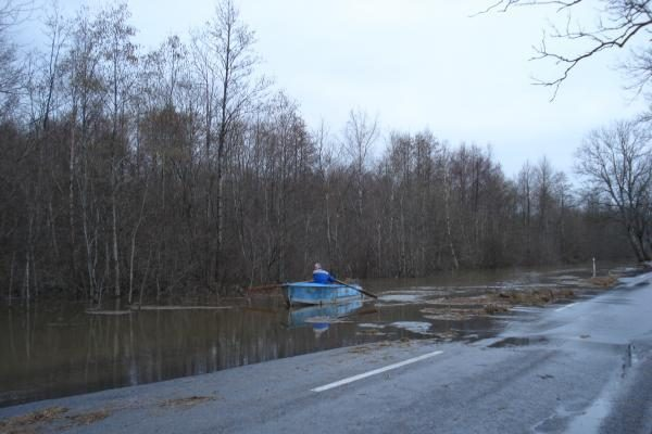 Potvynis pamaryje virto pramogų fiesta (papildyta)