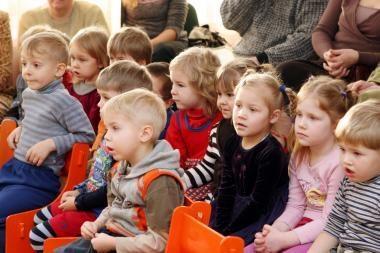 Daugėja vaikų Klaipėdos darželiuose