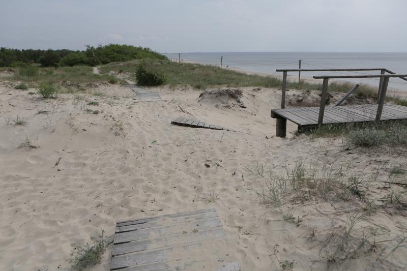 Paruošti paplūdimius vasarai pritrūko laiko