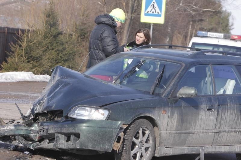Per avariją Vilniaus pakraštyje sužalotas vaikas