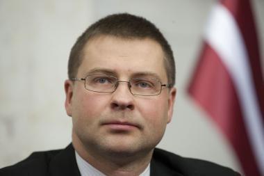 Latvijos premjero V.Dombrovskio antikrizines priemones žmonės palaiko