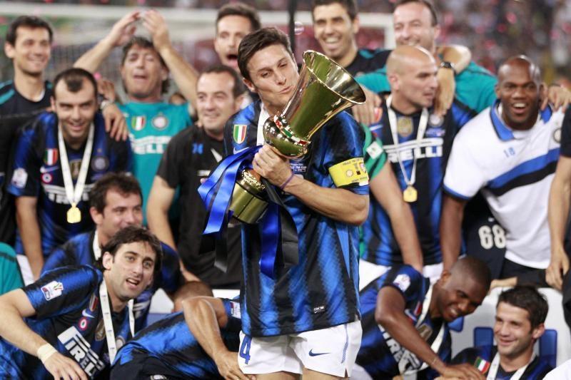 """""""Inter"""" triumfavo Italijos taurėje"""