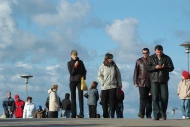 Klaipėdos apskrityje mažėja gyventojų