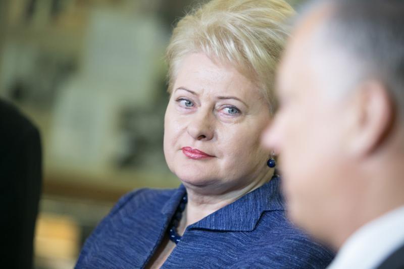 D. Grybauskaitė: ekonominė padėtis ES reikalauja konkrečių darbų