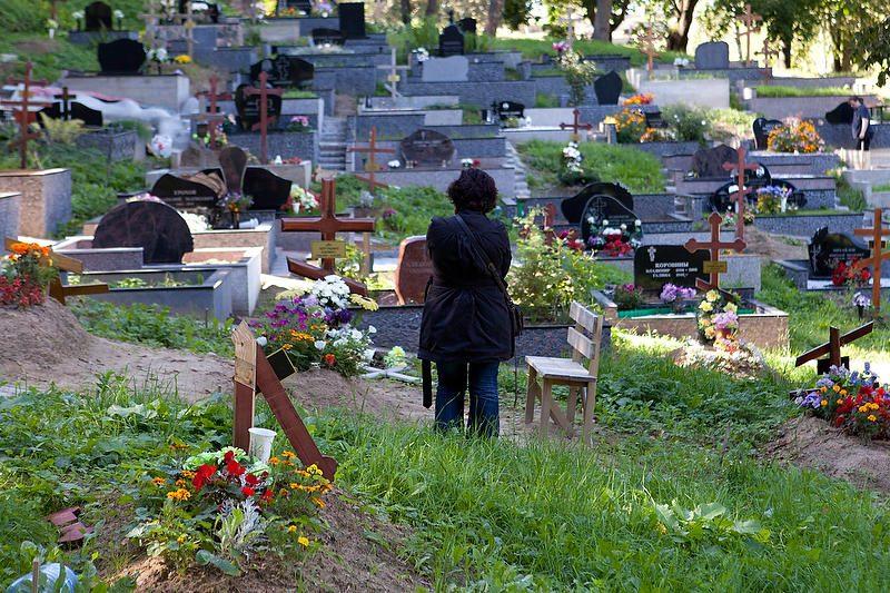 Vilniuje nuniokotos stačiatikių kapinės