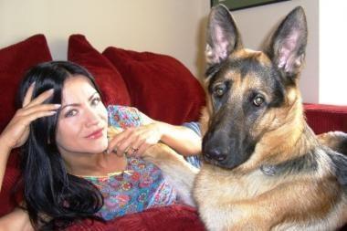 A.Pilvelytė apsidraudė nuo šuns išdaigų