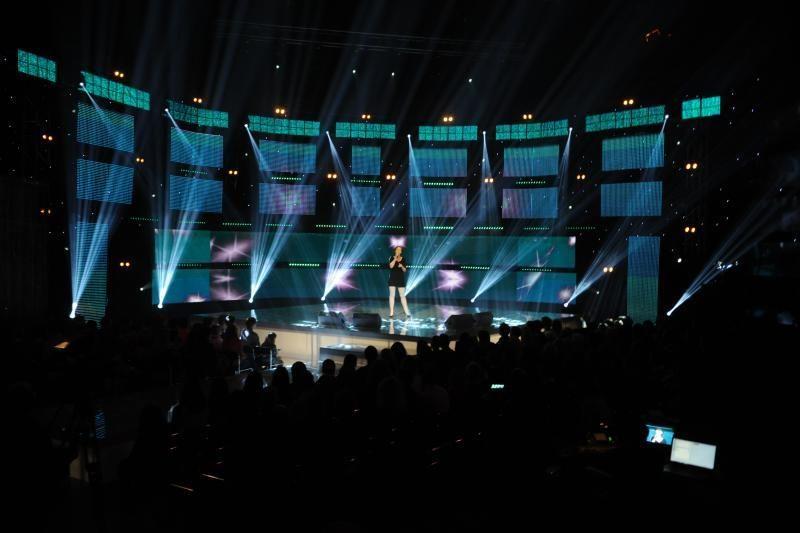 """""""Eurovizijos"""" perklausos dalyvės bandė žavėti ir erotiškumu"""
