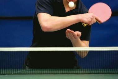 Baltijos šalių stalo teniso čempionai - Lietuvos vyrai ir Estijos moterys