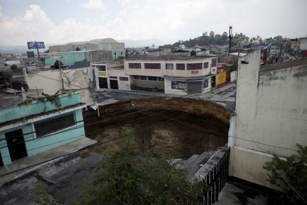 "Gvatemala: ""Agatha"" atvėrė ""pragaro vartus"""