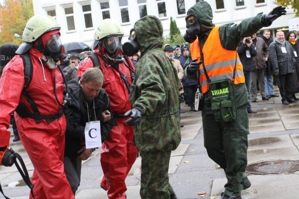 Kaune - valstybinio lygio civilinės saugos pratybos (papildyta)