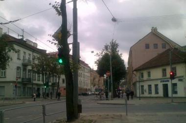 """Vilniaus """"pėsčiųjų"""" šviesoforai -  ar tikrai pėsčiųjų?"""