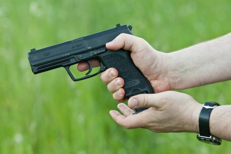 Panevėžyje pareigūnai sulaikė ginklu grasinusį jaunuolį