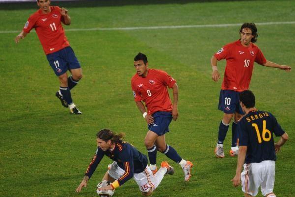 H grupė: tolyn žengė Ispanija ir Čilė