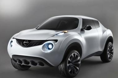 """""""Nissan"""" Tokijuje pristatys naująjį """"Qazana"""""""