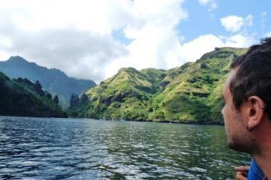 """""""Ragainė II"""" plaukia į Prancūzų Polinezijos sostinę"""