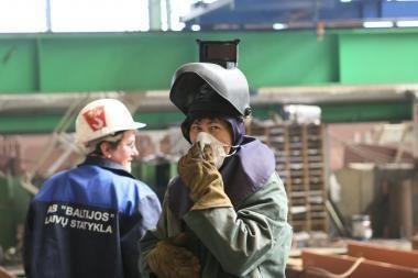 """""""Baltijos"""" laivų statykloje atleidžiami darbuotojai (papildyta)"""