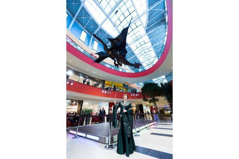 Drakonų parodoje Vilniuje – 500 kilogramų sveriantys drakonai
