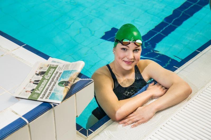 Pasitraukus M. Phelpsui, pasaulio dėmesys kryps į R. Meilutytę