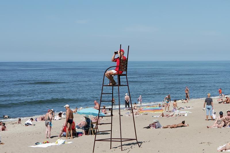Klaipėdoje pradeda budėti paplūdimių gelbėtojai (papildyta)