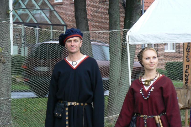 Festivalio dalyvius pakerėjo įspūdingi kuršių kostiumai