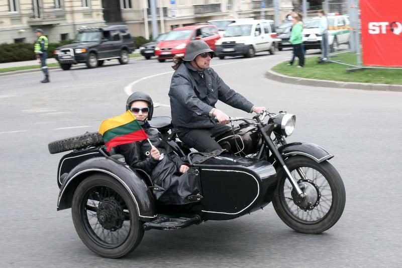 Motociklizmui Lietuvoje sukanka 85 metai