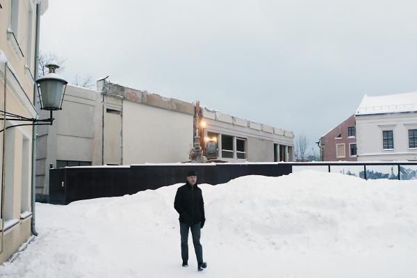 Prasideda Klaipėdos dramos teatro atstatymo darbai