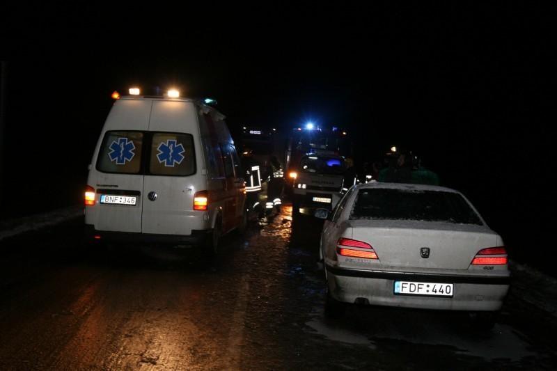 Vilniaus rajone avariją sukėlė teisės vairuoti neturėjęs jaunuolis