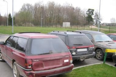 Kontrabandininkai vėl siekė atgauti savo automobilius