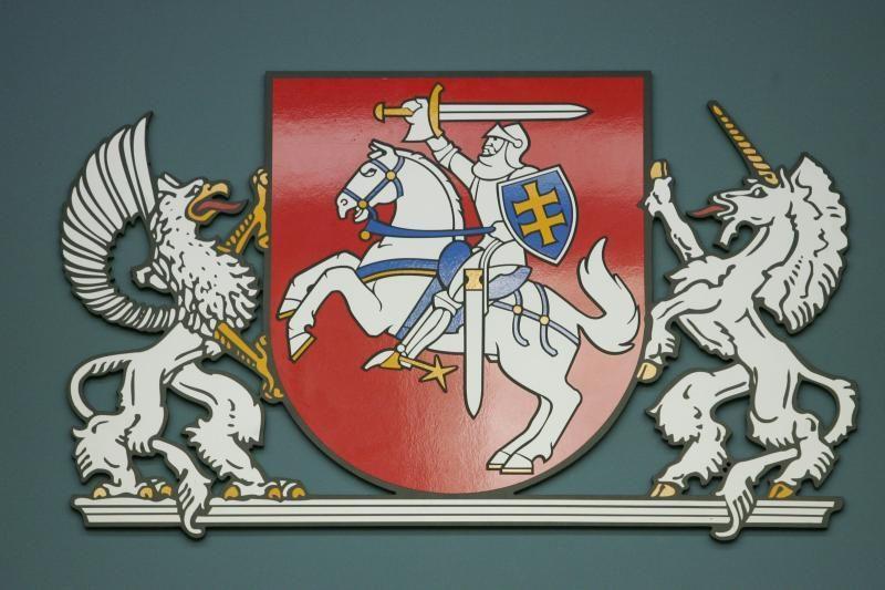 Siūloma plačiau įtvirtinti istorinės vėliavos su Vyčiu naudojimą