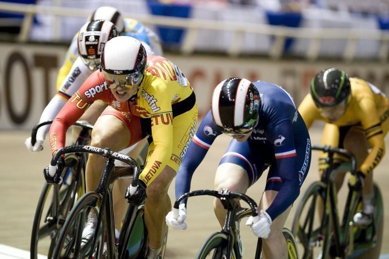 S.Krupeckaitė – pasaulio dviračių treko taurės etapo nugalėtoja