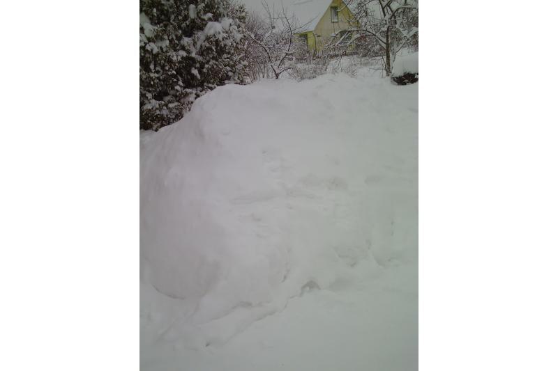 Dituvą užklojęs storas sniego sluoksnis sujaukė gyvenimą