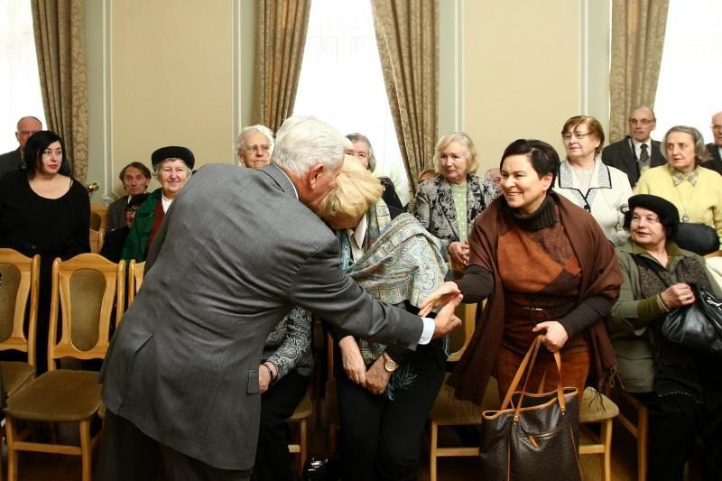 V. Adamkus apie S. Lozoraitį: jo visas gyvenimas buvo skirtas Lietuvai