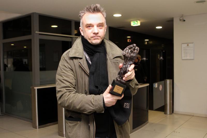 """""""Šv. Kristoforo"""" statulėlė – pagaliau A.Mamontovo rankose"""