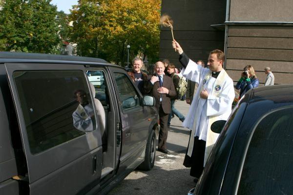 Klaipėdiečiai prašė Dievo palaimos vairuojant