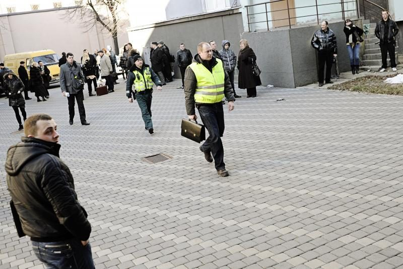 Pranešimas apie sprogmenį išvaikė Kauno apygardos teismą