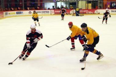 Klaipėdos ledo ritulininkai kovos už Ledo areną