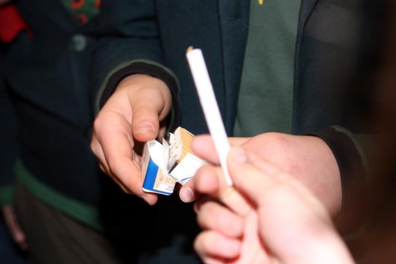Vilniaus raj. moksleivis prekiavo kontrabandinėmis cigaretėmis