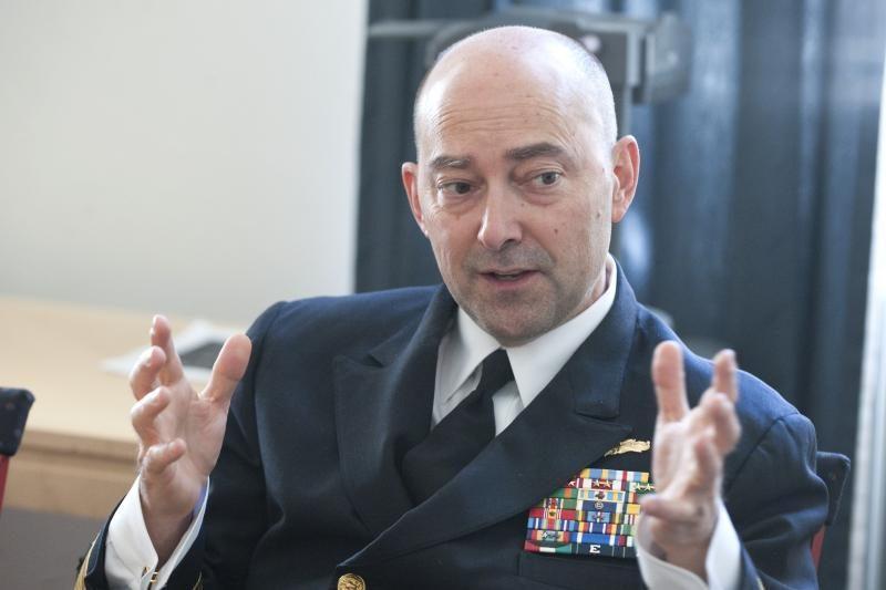 NATO admirolas dėkoja Lietuvai už indėlį Afganistane