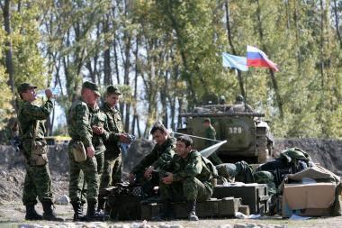 Tbilisis: Rusija stiprina savo pajėgas Abchazijoje