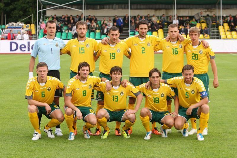 Lietuvos futbolininkai sutriuškino armėnus