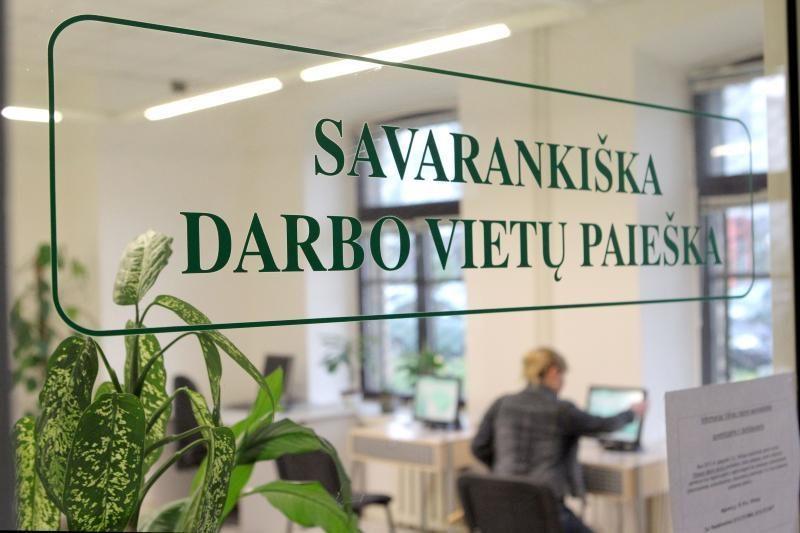 Daugiausia bedarbių Kauno rajone – iš Garliavos