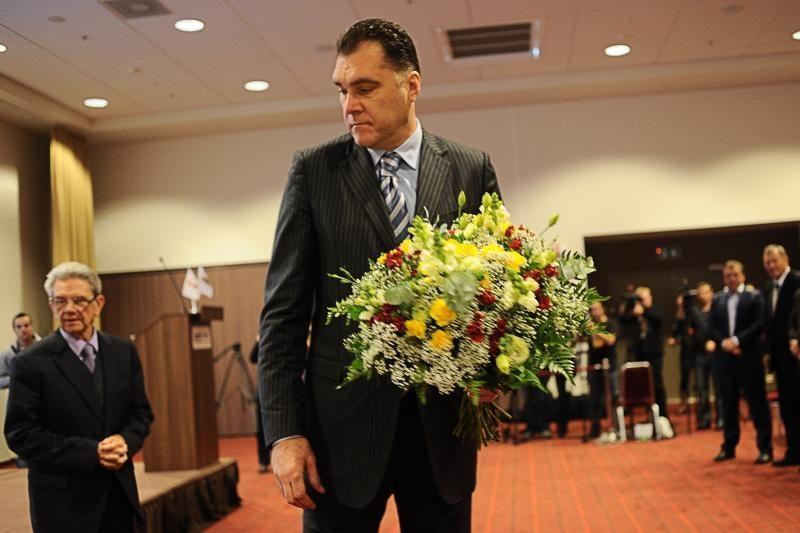 Arvydas Sabonis – naujasis LKF prezidentas