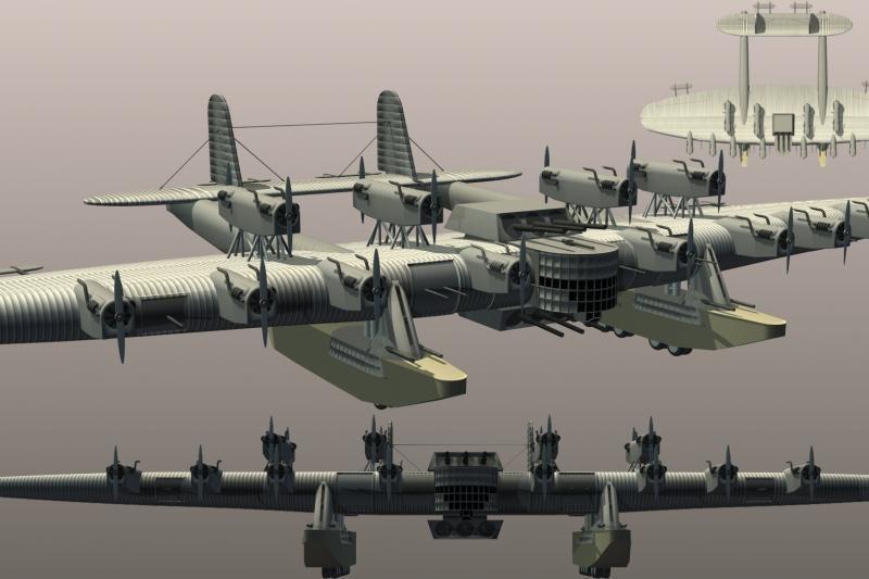 """Sovietinė gigantomanija: skraidanti rusų tvirtovė """"Kalinin K-7"""""""