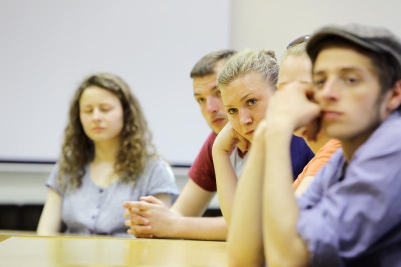 Klaipėdos jaunimo teatrui - viltis turėti nuolatines patalpas