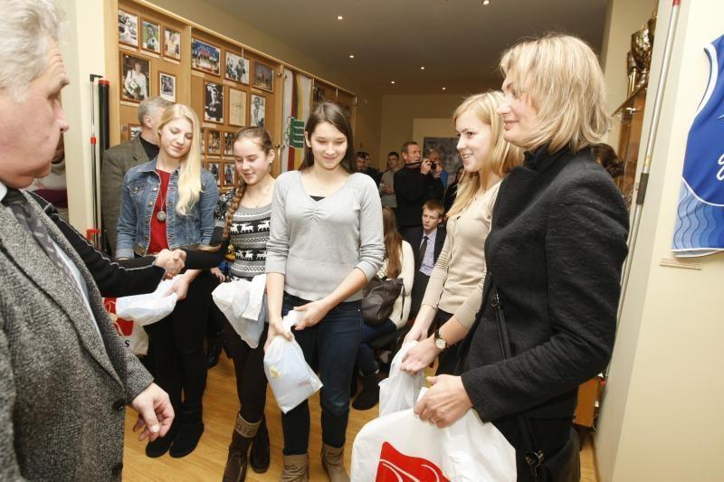 Pasveikinti jaunieji Klaipėdos sportininkai