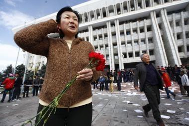 Kirgizijoje vyras užgrobė reisinį autobusą